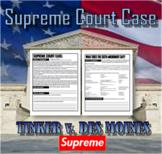 Supreme Court Case: Tinker v. Des Moines | First Amendment