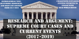 Supreme Court Cases and Analyzing Arguments