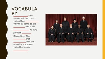 Supreme Court Cases (notes)
