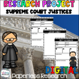 Supreme Court Justices [Google Classroom Compatible]