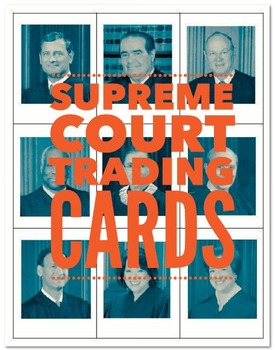 Supreme Court Justices Trading Cards