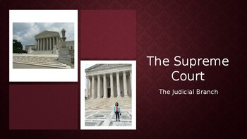 Judicial Branch Overview (2020)