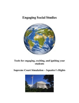 Supreme Court Simulation - Squatter's Rights