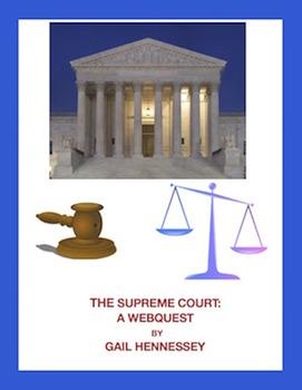 Supreme Court: Webquest