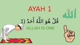 Surah Al-Iklahs