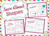 Sure About Shapes - Posters, Centers, and Independent Activities for Shapes!