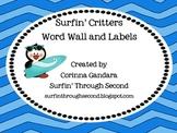 Surf Critter Wordwall
