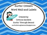 Surf Critter Wordwall