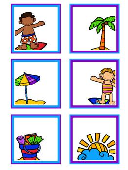 Surf & Sand Calendar Cards