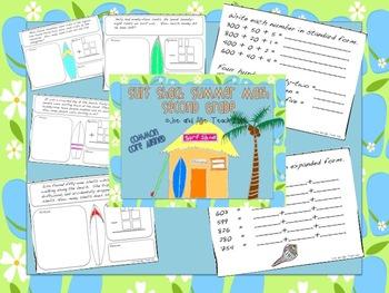 Surf Shack Summer Math MEGA Bundle