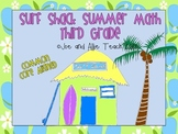 Surf Shack Summer Math - Third Grade Common Core