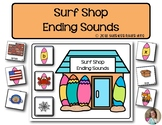 Surf Shop Ending Sounds  | Phonics | Literacy