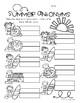 Surf Shop Kiddos / Summertime: Antonyms Match Center (Harder)