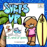 Surf's Up  - An R-Controlled Vowel Game & Sort  #SPRINGSAVINGS