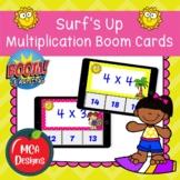 Surf's Up - Multiplication Boom Cards