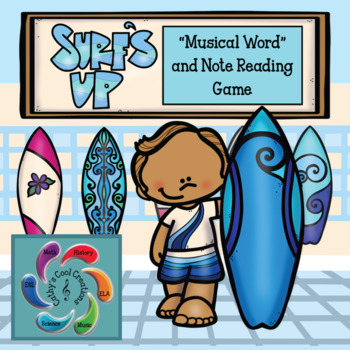 Surf's Up! Note Reading Game