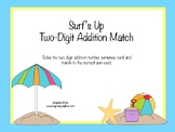 Surf's Up Two-Digit Addition Match