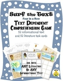 Text Dependent Comprehension Center for ANY Text