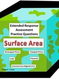Surface Area:  Assessment Practice Questions Extended Response
