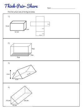 Surface Area Unit Bundle