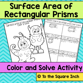 Surface Area Color and Solve