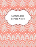 Surface Area Cornell Notes
