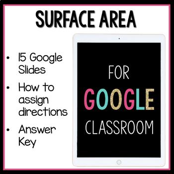 Surface Area Digital Activities
