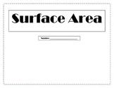 Surface Area FOLDABLE