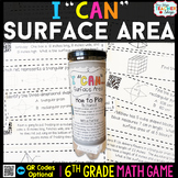 6th Grade Math Game   Surface Area