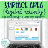 Surface Area Gift Wrapping DIGITAL Activity for Google Drive Distance Learning