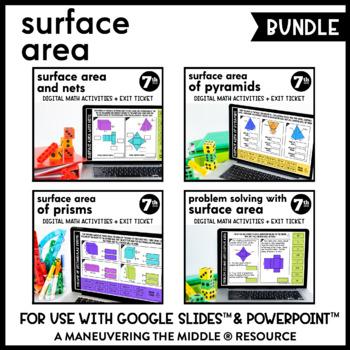 Surface Area - Google Slides Supplemental Digital Math Activities