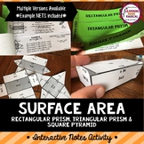 Surface Area Interactive Notes Activity