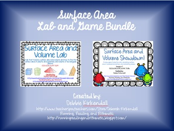 Surface Area Lab and Game Bundle