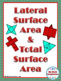 Surface Area Notes - Lateral Surface Area & Total Surface Area
