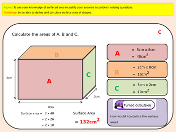 Surface Area Powerpoint