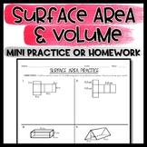 Surface Area Practice