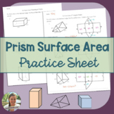 Surface Area Practice - Prisms