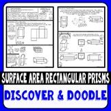 Surface Area Rectangular Prisms Discover & Doodle