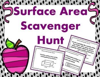 Surface Area Scavenger Hunt