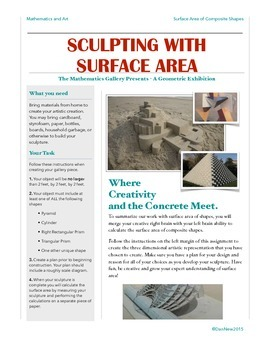 Surface Area Sculpture: Where Creativity and the Concrete Meet