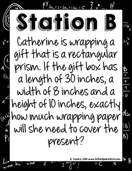 Surface Area Stations