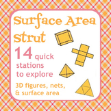 Surface Area Strut - Nets, 3D figures, Surface Area - Active Math