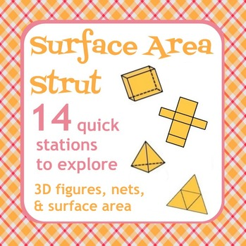 Surface Area Strut - Nets, 3D figures, Surface Area - Active Math