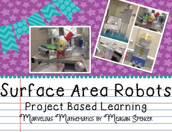 Surface Area Tin Foil Robots Project Based Learning