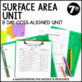 7th Grade Surface Area Unit:  7.G.6