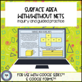 Surface Area Using Nets for use with Google Slides™ & Forms™