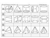 Surface Area & Volume 01: Classify Three Dimensional Geometric Solids, Shapes