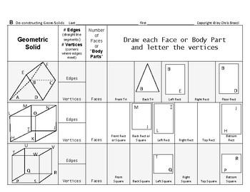 Surface Area & Volume 02: De-Constructing Geometric Solids