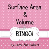 Surface Area & Volume - BINGO game