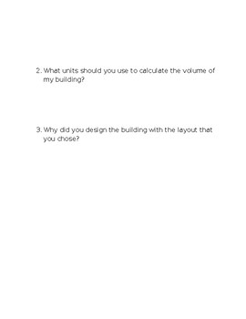 Surface Area & Volume Calculation 3D Building Assessment